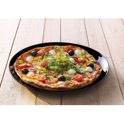 Блюдо для пиццы 32см Luminarc Friends Time Black M0066