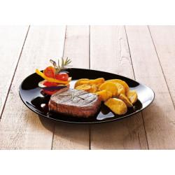 Блюдо для стейка 30см Luminarc Friends Time Black N2177