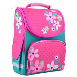 Рюкзак школьный PG-11 Flowers pink 1 Вересня 554445