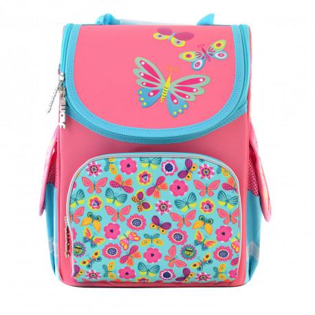 aa1eeb0ed537 Рюкзак каркасный PG-11 Butterfly pink Smart 554454 купить на ...