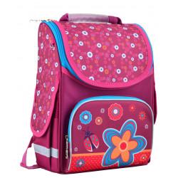 Рюкзак школьный PG-11 Flowers red 1 Вересня 554456
