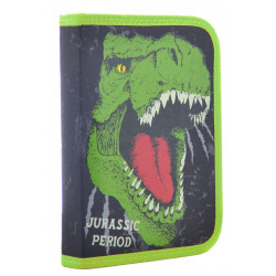 Пенал твердый одинарный с клапаном Dinosaur 1 Вересня 531870