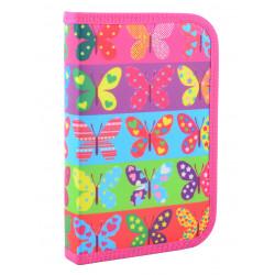 Пенал твердый одинарный Butterflyt Smart 531654