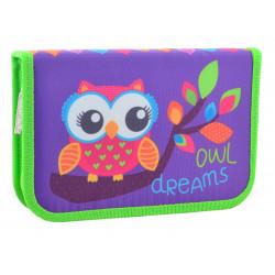 Пенал твердый одинарный Owl Smart 531658