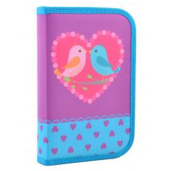 Пенал твердый одинарный Birds Smart 531658