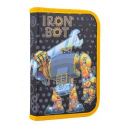 Пенал твердый одинарный Iron bot Smart 531720