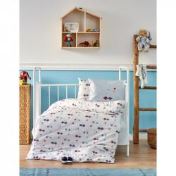 Детский набор в кроватку для младенцев Karaca Home - My Car 2018-1 (10 предметов)
