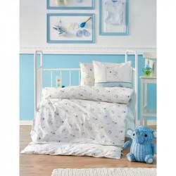 Детский набор в кроватку для младенцев Karaca Home - Woof 2018-1 (10 предметов)