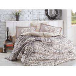 Комплект постельного белья полуторный Hobby Poplin - Serenity серый