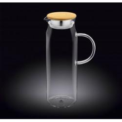 Кувшин стеклянный с крышкой 1500мл Wilmax Color WL-888208