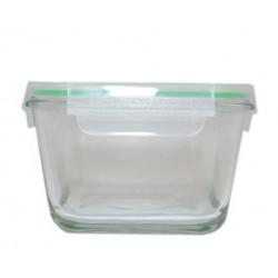 Емкость стеклянная квадратная 400мл Krauff  (32-72-005)