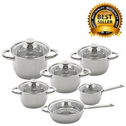Набор посуды BergHOFF Vision Premium 12 пр. 1112095