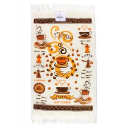Полотенце кухонное 40х60 IzziHome - Горячий кофе