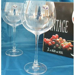 Бокалы для вина Bohemia Vintage XXL 820 мл -2шт