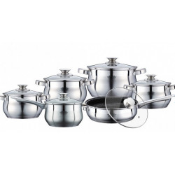 Посуда Peterhof 12ч PH15774 (2х2.9л, 3.9л, 6.5л, ковш2.1л, сот24см)