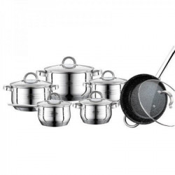 Посуда Peterhof 12ч PH15797 (ковш 2,1л, 2,1л, 2.9л, 3.9л, 6,5л, сотейн.3,5л* 24см)
