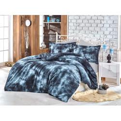 Комплект постельного белья евро Hobby Batik - Gizem серый