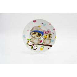 Тарелка десертная 17,5см Owlet Milika М0670-TH5792