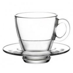 Чашка 70мл.+блюдце 6шт. Аква 95756