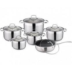 Посуда Rainstahl 12ч RS1855-12 (2,1л,2,9л,3,9л,6,6л,8,1л, сот24см)