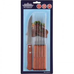 Набор ножей для стейка Peterhof 6ч PH22431