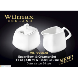 Набор сахарница+ молочник -2пр.Color Wilmax Color WL-995028/2C