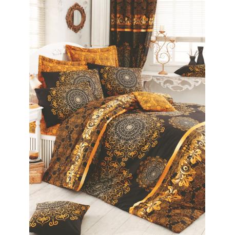 Комплект постельного белья евро LightHouse Osmanli желтый