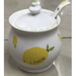 Сахарница с ложкой 300мл Astera Lemon А05110-XX-03