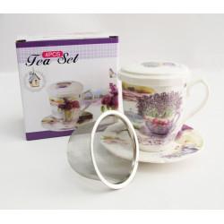 Astera.Lavander.Набір чайний 300мл-4пр