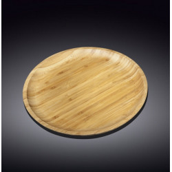 Тарелка бамбуковая 20,5см Wilmax Bamboo WL-771032