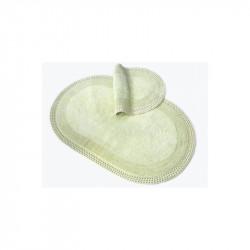 Коврик для ванной 50х80 Irya Laverne yesil зелёный