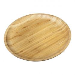 Тарелка бамбуковая 25,5см Wilmax Bamboo WL-771034