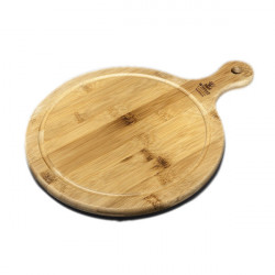 Блюдо круглое сервировочное с ручкой 21,5х15см Wilmax Bamboo WL-771095