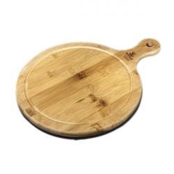 Блюдо круглое сервировочное с ручкой 37,5х28см Wilmax Bamboo WL-771100