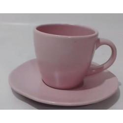 Чашка чашка с блюдцем 300мл Marble Pink Astera A0431-ZM12TSB