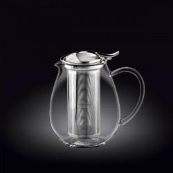 Заварочный чайник с металлическим ф-м Wilmax Thermo 850 мл WL-888802