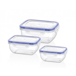 Набор контейнеров 3пр 0,8л 1,4л 2,3л Cook&Lock BG-505