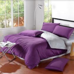 Постельное белье евро Bella Villa сатин (B-0086 Eu)