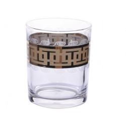 """Набор стаканов для виски 255 мл """"Меандр"""" Гусь хрустальный EAV26-405"""