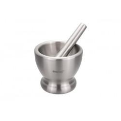 Ступка с пестиком (сталь) 12,8*11,5см KingHoff KH3340 (6 шт. в ящ.)