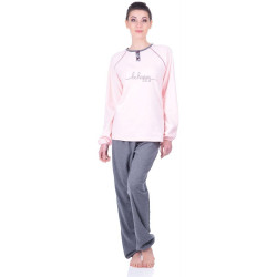 Комплект одежды Jokami Desire M пудра/серый
