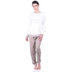 Комплект одежды Jokami Lucienne XL бежевый