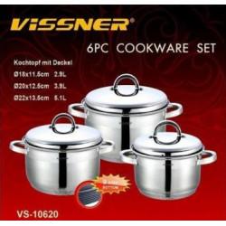 Набор посуды 6пр Vissner VS10620