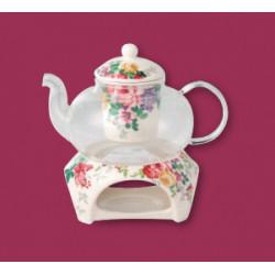 Набор 2 пр чайник заварочный с подставкой для подогрева Astera Madelaine A05171-S17