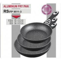 Набор сковородок 3пр 20,24,28см Rainstahl RS 9511-3