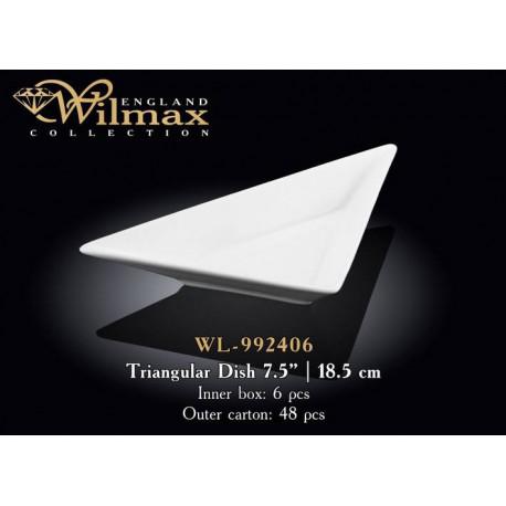 Wilmax Блюдо треугольное 18,5см WL-992406