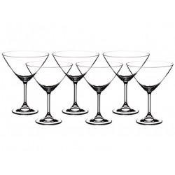 Набор бокалов для мартини Bohemia Sylvia (Klara) 280 мл