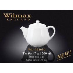 Wilmax Чайник заварочный 500мл.Color WL-994030