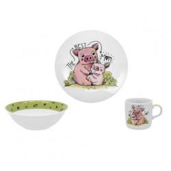 Детский набор 3пр Limited Edition Piggy C528