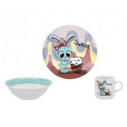Детский набор 3пр Limited Edition Sweet Bunny C523